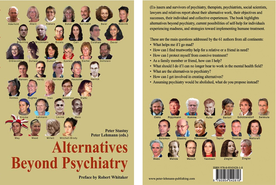 Front and back cover of Alternatives Beyond Psychiatry